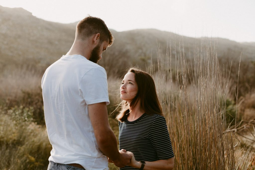 Silvermine engagement session