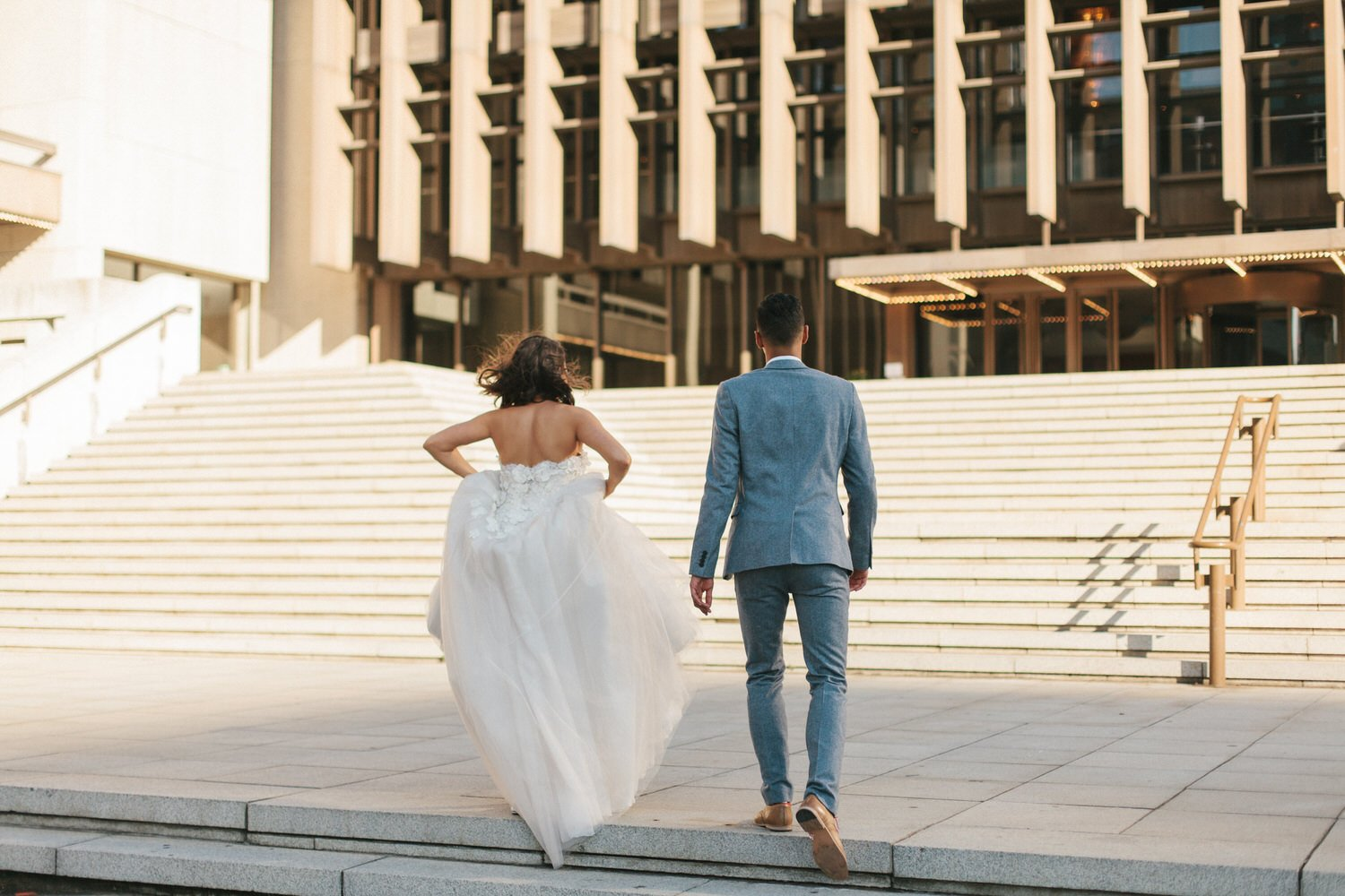 Cape Town city wedding