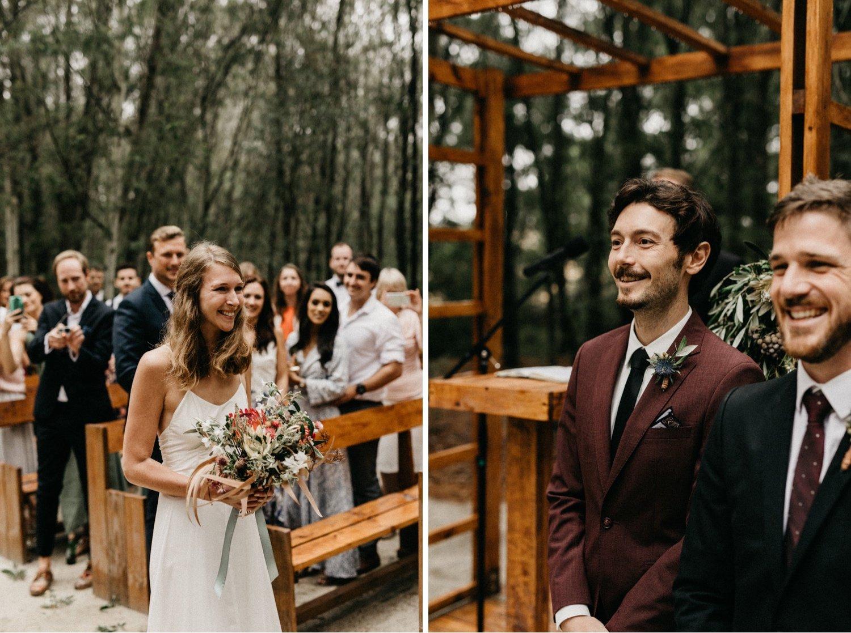 John & Susanne's Forest Wedding 94