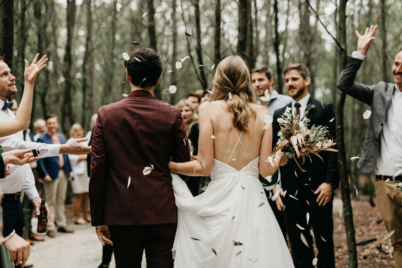 John & Susanne's Forest Wedding 124