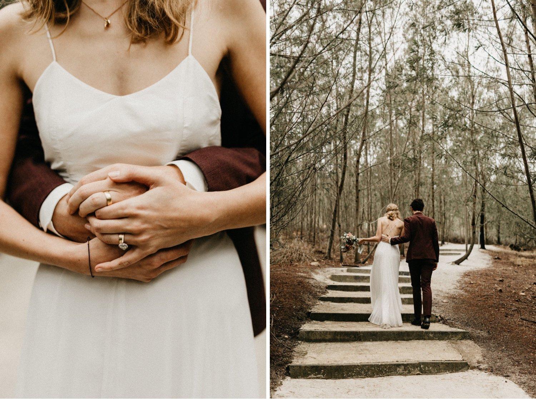 John & Susanne's Forest Wedding 142