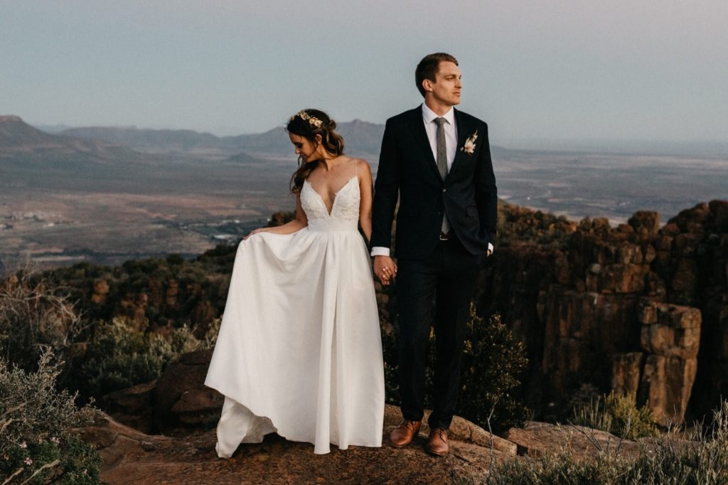 valley of desolation wedding