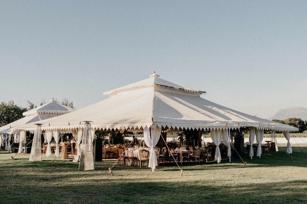 Alex & Carla's Luxury Tent Wedding Celebration 66
