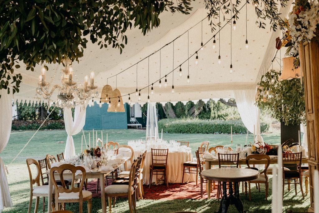 Alex & Carla's Luxury Tent Wedding Celebration 68