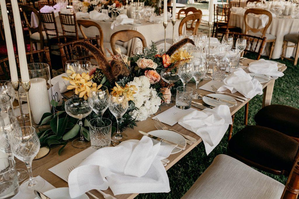 Alex & Carla's Luxury Tent Wedding Celebration 72