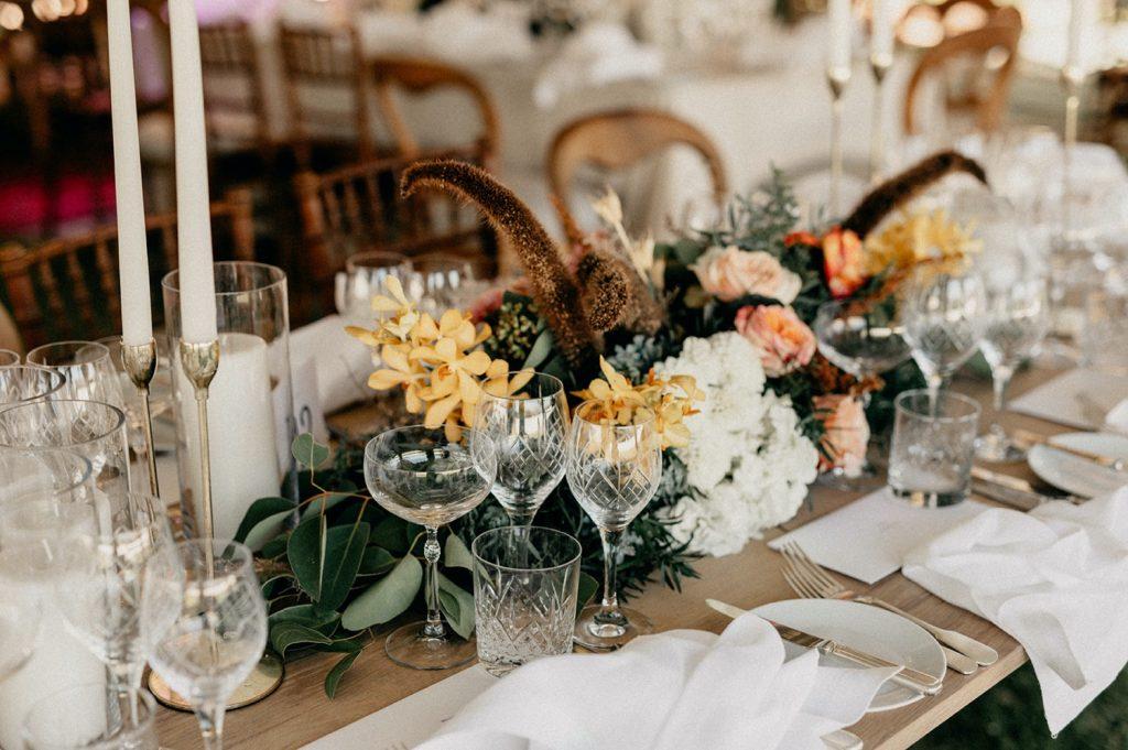 Alex & Carla's Luxury Tent Wedding Celebration 76