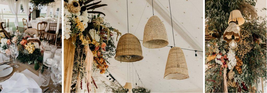 Alex & Carla's Luxury Tent Wedding Celebration 78