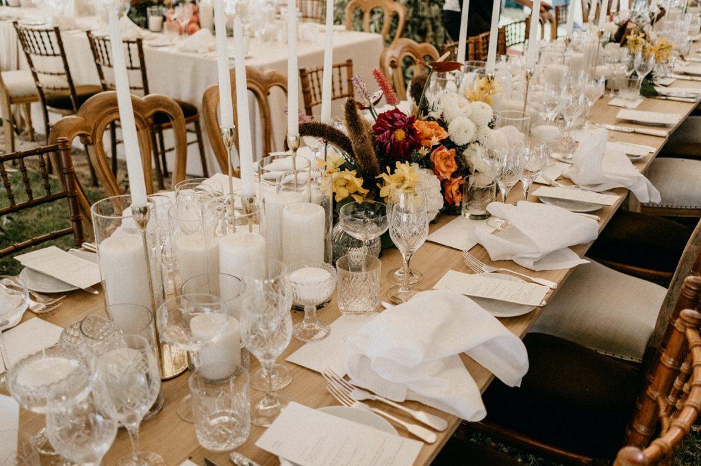 Alex & Carla's Luxury Tent Wedding Celebration 80