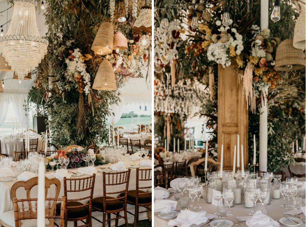 Alex & Carla's Luxury Tent Wedding Celebration 82