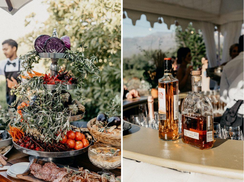 Alex & Carla's Luxury Tent Wedding Celebration 98