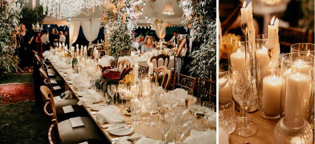 Alex & Carla's Luxury Tent Wedding Celebration 146
