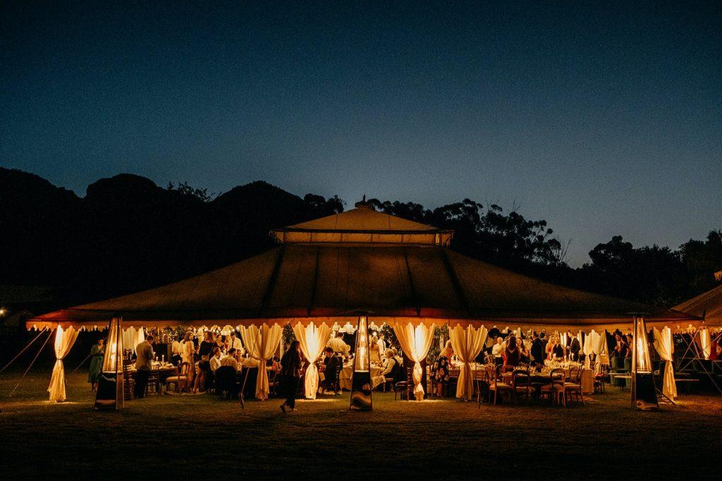 Alex & Carla's Luxury Tent Wedding Celebration 160