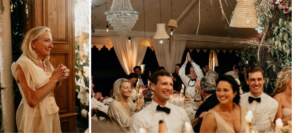 Alex & Carla's Luxury Tent Wedding Celebration 180