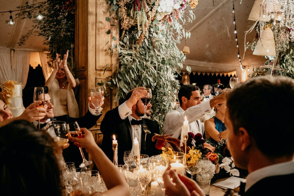Alex & Carla's Luxury Tent Wedding Celebration 194