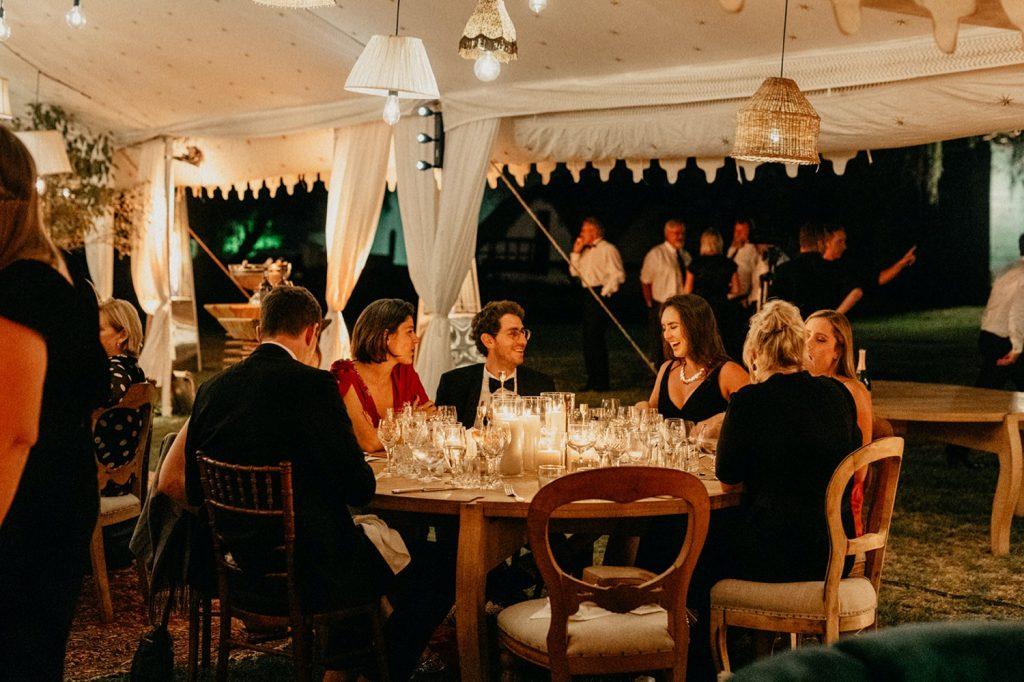 Alex & Carla's Luxury Tent Wedding Celebration 198