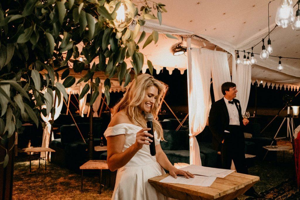 Alex & Carla's Luxury Tent Wedding Celebration 212