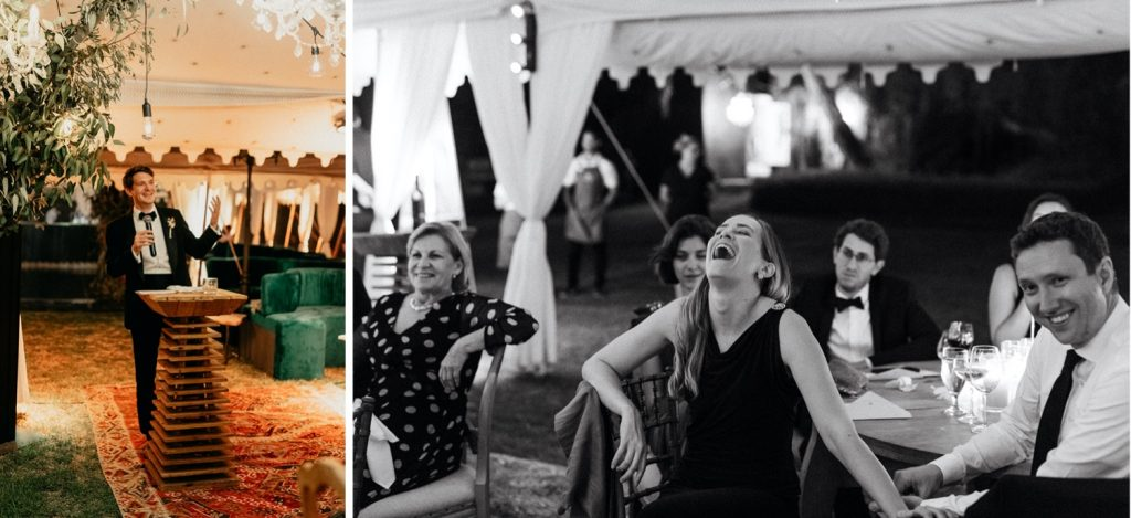 Alex & Carla's Luxury Tent Wedding Celebration 230